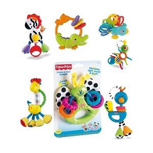 Fisher-Price Sonajeros Mordedores